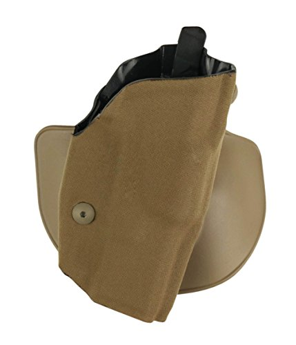Safariland 6378USN ALS Paddle & Belts Slide Wrapped Glock 19, Cord Coyote Tan, Right
