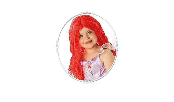 Los niños tamaño de la Sirenita Ariel peluca: Amazon.es: Juguetes y juegos