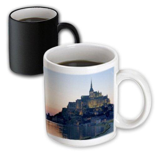 3dRose mug_81505_3 Mont Saint Michel, Basse-Normandie, France Eu09 Dfr0451 David R Frazier Magic Transforming Mug, 11-Ounce