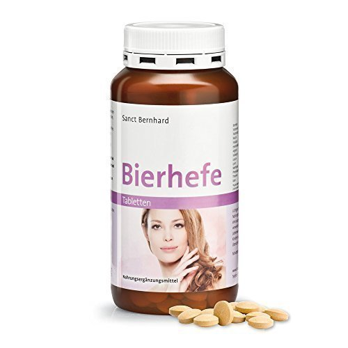 Sanct Bernhard - Bierhefe Tabletten (400 Tbl.)