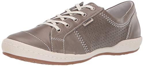 Josef Seibel Women's Caspian Sneaker, Grigio, 37 EU/6-6.5 M US