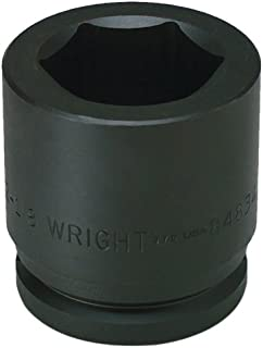 product image for Wright Tool 84856 3-1/2-Inch 6 Point Standard Impact Socket with 1-1/2-Inch Drive