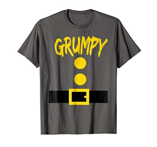 Dwarf Costume T-Shirt - Funny Halloween Gift Idea - Grumpy