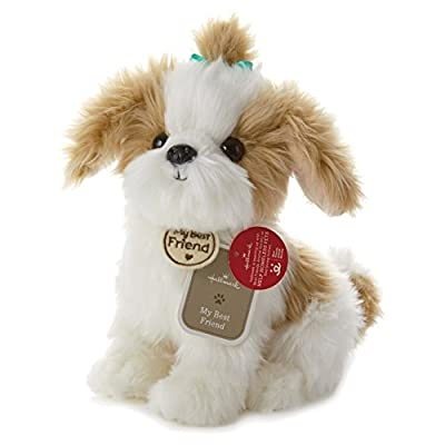 Hallmark My Best Friend Large Shih Tzu Plush Stuffed Animal: Toys & Games
