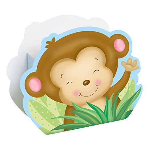 Monkey Baby Shower Favor Boxes
