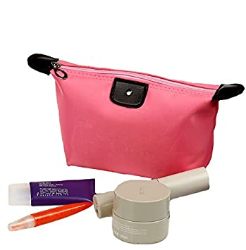 e76d5b313d3e 2Pcs Designer Makeup Bags Waterproof Frame Pouch Women Zipper Cosmetics  Case Ladies Travel...