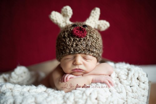 My little reindeer hat]()