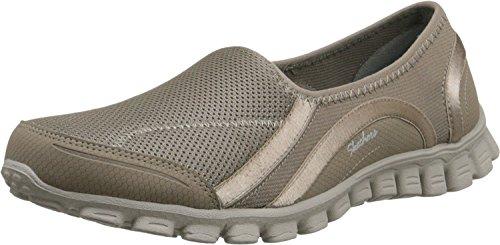 Skechers Ez Flex 2 Drop In Go Dames Slip Op Sneakers Taupe