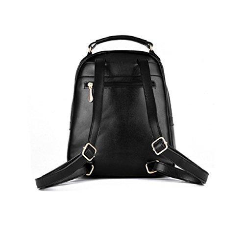 Ayer Bolsa De Hombro Bolsa De Mujer U Bolsa De Cuero Backpacker Bolsa De Estudiante De Escuela Secundaria 6