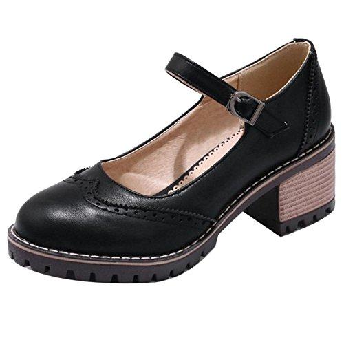 Ancho Para Coolcept Black Zapatos De Pumps Mujer Tacon aP47UPv