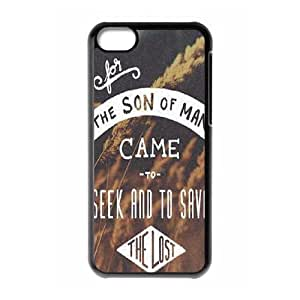 Quotes Use Your Own Image Phone Case for Iphone 5C,customized case cover ygtg529355