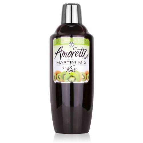 Amoretti Premium Martini Cocktail Mix, Kiwi, 28 Ounce by Amoretti
