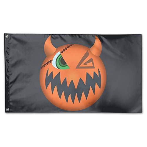 CBMVNC ERUTIHGF Sora Halloween Town Vampire Form Mask 150cm*90cm Perfect Outdoor Flag 3 * 5 ()