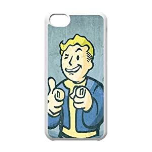 iphone5c case(TPU), vault boy fallout Cell phone case White for iphone5c - HHKL3335720