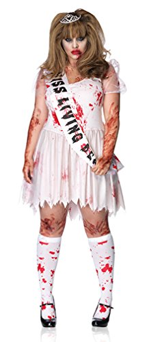 Leg Avenue Women's Plus Size Bloody Prom Queen Costume