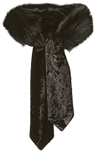 Orchid Row Women's Faux Fur Velvet Choker Neckerchief