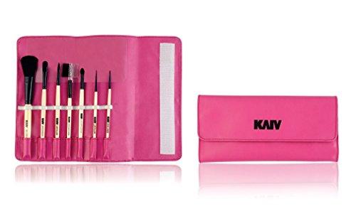 Kaiv Set Of 7 Make Up Brushes