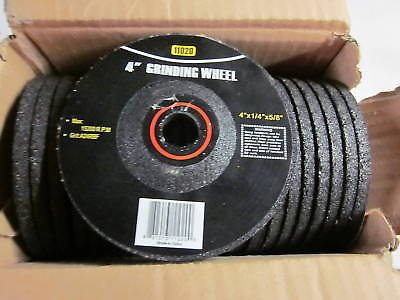 ~50~ 4'' GRINDING WHEELS DISC FITS ANGLE GRINDERS FOR METAL WHEEL 4'' X 1/4'' X 5/8 by Sona