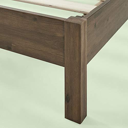Zinus Tosha 12 Inch Wood Platform Bed, Queen