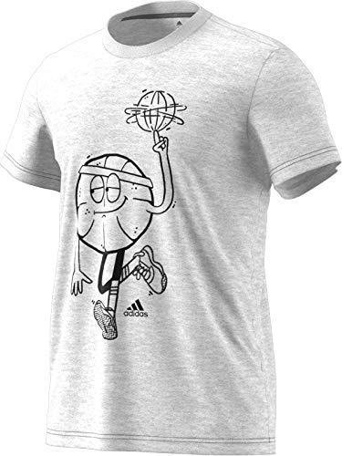 adidas Men's Lil Stripe Graphic Basketball Tee