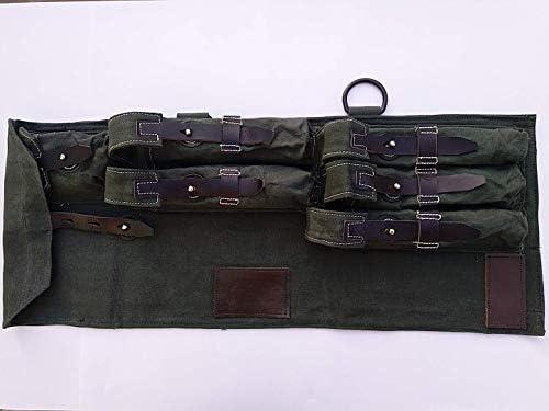 WARCRAFT EXPORTS Estuche de Lona y Cuero alemán de la Segunda Guerra Mundial MP 40 / MP40 SMG, MP40 Schmeisser: Amazon.es: Deportes y aire libre