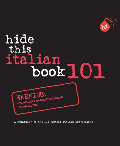 Hide This Italian Book 101 (Hide This Book 101)