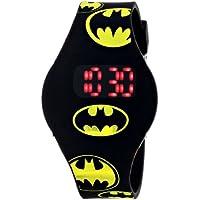 Batman Kids 'bat4146Reloj con Banda de goma Negro