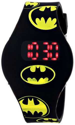 Batman Kids' BAT4146 Watch with Black Rubber Band