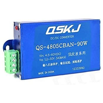 Dc-dc Converter Step-down 4.5-60v 12v To 1.2-30v 5v 90w Buck 24v Power Supply Active Components Integrated Circuits