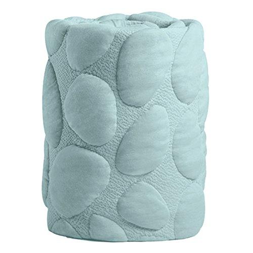 Nook Sleep Systems Pebble Lite Crib Removable Mattress Wrap, 100% Organic, Soft, and Breathable, Sea Glass