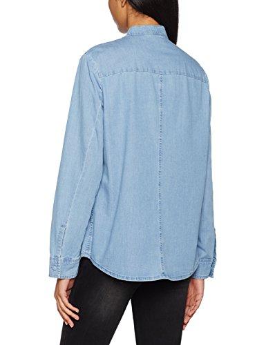 Gabriele Strehle Blouse Taci, Blusa para Mujer Blau (light blue 820)