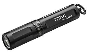 SureFire Titan Ultra-Compact Dual-Output LED Keychain Light, Black