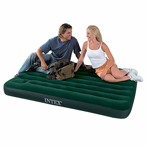 Paris Prix - Colchón 2 plazas con inflador integrado Airbed ...