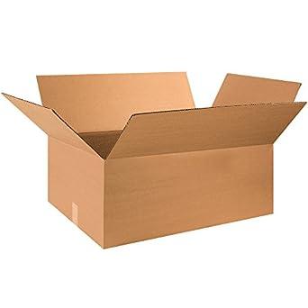 """20 Per Bundle 28 x 12 x 12/"""" Long Corrugated Boxes"""