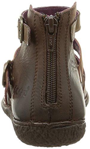 Honorine Chaussures Foncé Marron Kickers Kickers Marron Multico Hautes Femme Honorine 6EtFtqUw