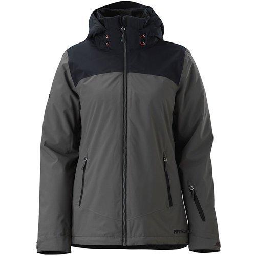 Marker Women's Pandemonium Jacket, Small, Dark Shadow (Ski Jacket Womens Marker)