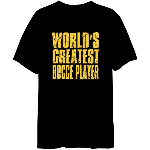 WORLD GREATEST Bocce T-shirt da uomo