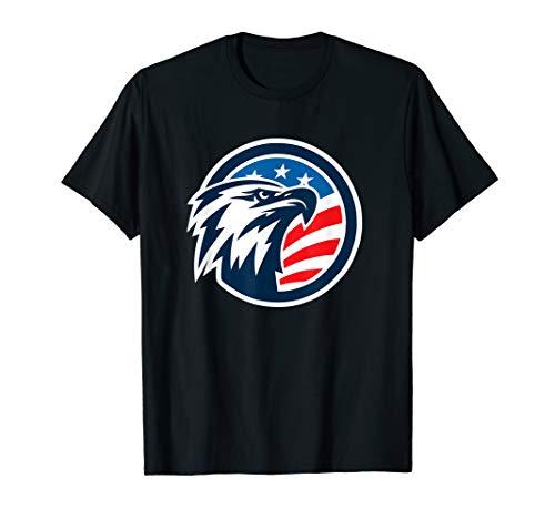 4th of July  Shirt - USA American Flag Patriotic Bald Eagle - Leggings Eagle American