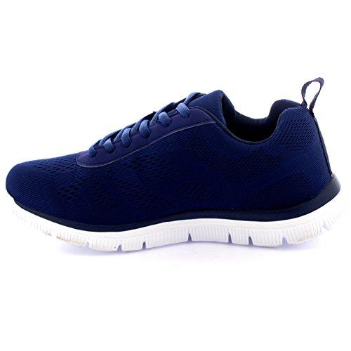 Walk Engrener Athlétique Gym Sport Formateurs Go Marine Chaussures Femmes Run Get Fit aWqRRC