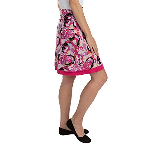 Tranquility Pattern - Colorado Clothing  Company Women's Reversible Tranquility Skirt, Pink Pattern , Medium
