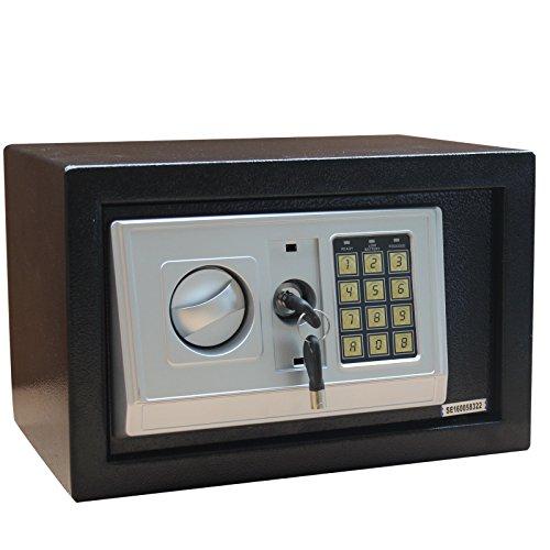 Möbeltresor Digital Schlüssel 310x200x200 mm Safe Tresor Wandtresor Wandsafe