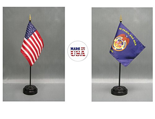 Made in The USA. 1 American and 1 Merchant Marines 4