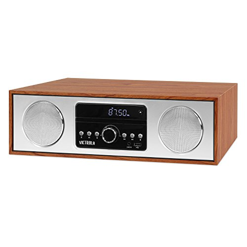 Victrola VS-120-MPL Bluetooth Microsystem CD Player USB AUX-