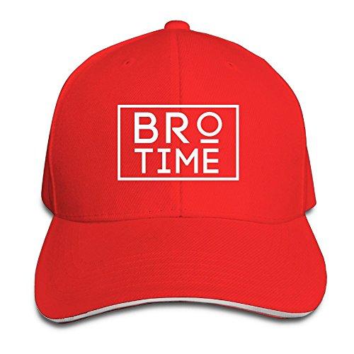 Li Bro Time revelry Unisex Hipster Adjustable Hat Sandwich Peaked Hat/Cap Four Seasons