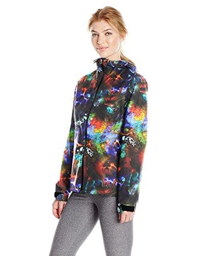 - Spyder Women's Pryme 2.5L Rain Shell Jacket, Tye Dye Print, Medium