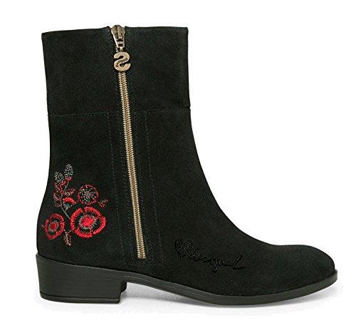 Africa Schwarz Boot Shoes NEOBOHO Desigual Damenschuhe Ankle qtBa8xzR