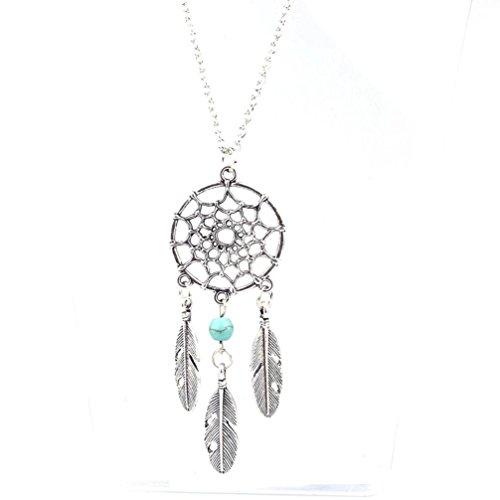 Womens Necklace, Gillberry Fashion Retro Jewelry Dream Catcher Pendant Chain - Owned Sunglasses Designer Pre