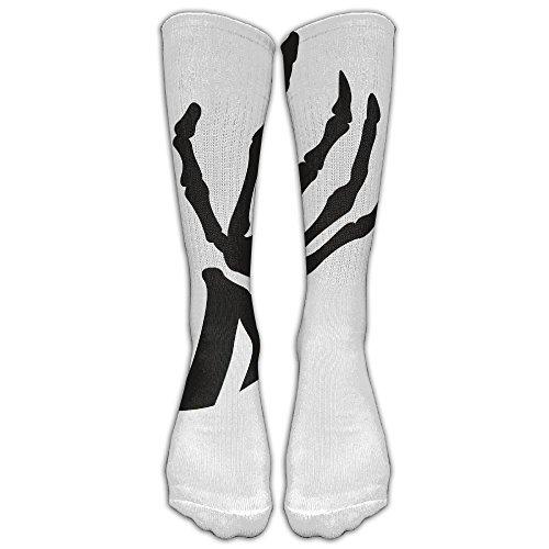 Women Men Stockings Boots Long Socks Halloween Skeleton