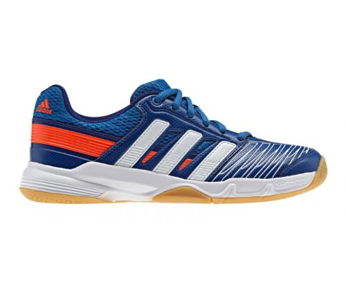 adidas Jungen Court Stabil Elite XJ Multisport Indoor Schuhe, 36 EU Blau