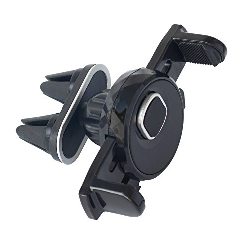 Universal Air Vent Phone Holder Car Mount with Double Clips